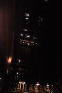 Back stage lights